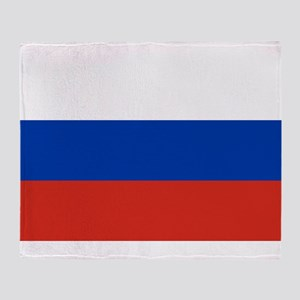 Russia Throw Blanket