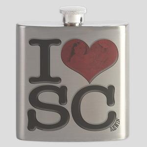 I Love SCrewin Flask