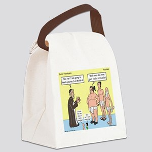 Sumo Theologica Canvas Lunch Bag