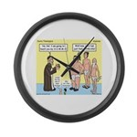 Sumo Theologica Large Wall Clock