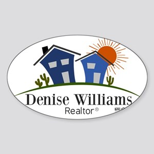 Denise Williams Realtor Sticker (Oval)