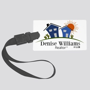 Denise Williams Realtor Large Luggage Tag