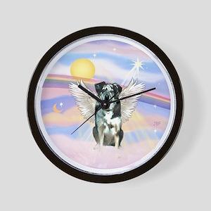 R-Clouds-Catahoula LD Angel Wall Clock