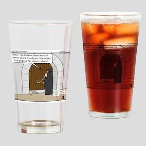 Wittenburg Door Drinking Glass