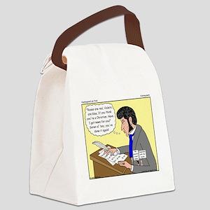 Kierkegaard Poetry Canvas Lunch Bag