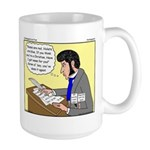 Kierkegaard Poetry Large Mug