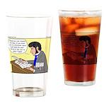Kierkegaard Poetry Drinking Glass