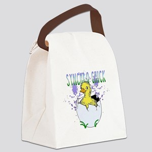 Synchro Chick Canvas Lunch Bag