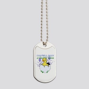 Synchro Chick Dog Tags