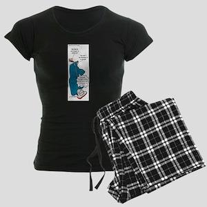 Barths Vacuum Women's Dark Pajamas