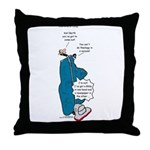 Barths Vacuum Throw Pillow