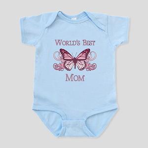 World's Best Mom (Butterfly) Infant Bodysuit