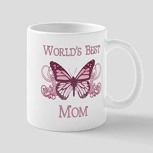 World's Best Mom (Butterfly) Mug
