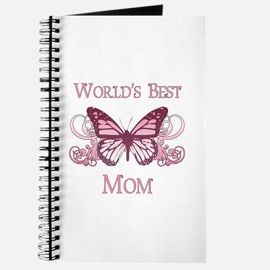 World's Best Mom (Butterfly) Journal