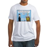 Calvin and Predestination Fitted T-Shirt