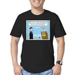Calvin and Predestination Men's Fitted T-Shirt (da