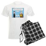 Calvin and Predestination Men's Light Pajamas