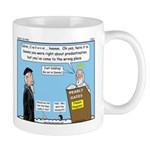 Calvin and Predestination Mug