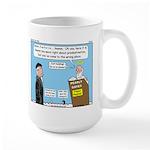 Calvin and Predestination Large Mug