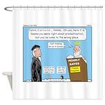 Calvin and Predestination Shower Curtain