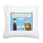 Calvin and Predestination Square Canvas Pillow