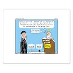 Calvin and Predestination Small Poster
