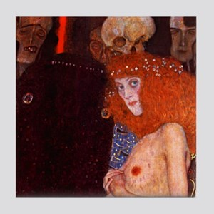 Gustav Klimt Art Deco Tile Set Hope - P1of3