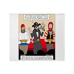 Offering Pirates Throw Blanket