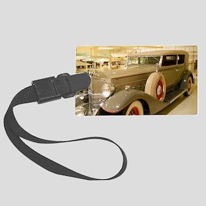 1933 Packard Sedan Large Luggage Tag