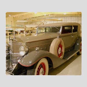1933 Packard Sedan Throw Blanket