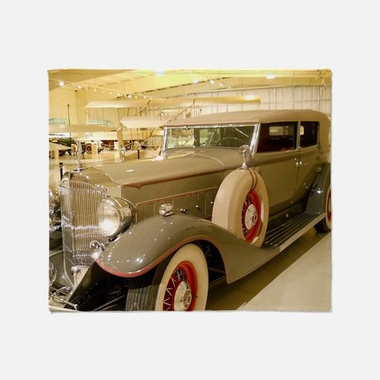1933 Packard Sedan Throw Blanket