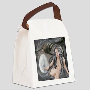 NIGHT Goddess Canvas Lunch Bag
