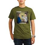 Bad Committee Practices Organic Men's T-Shirt (dar