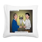Bad Committee Practices Square Canvas Pillow