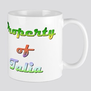 Property Of Talia Female 11 oz Ceramic Mug