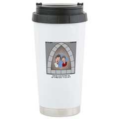 Stained Glass Window Stainless Steel Travel Mug