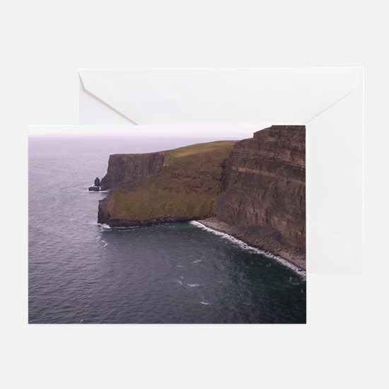 Cliffs in Ireland Greeting Card