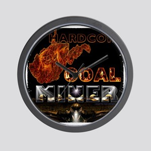 Hardcore Coal Miner... Wall Clock
