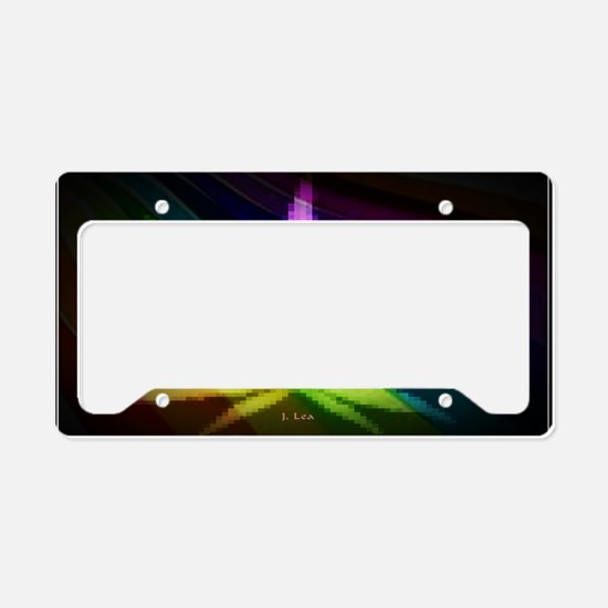 Rainbow Weed License Plate Holder