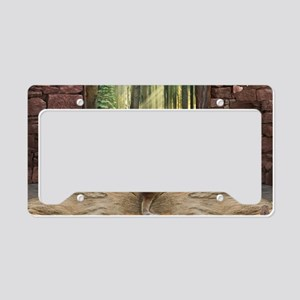 Doorway into Forever narr License Plate Holder