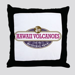 Hawaii Volcanoes National Park Throw Pillow