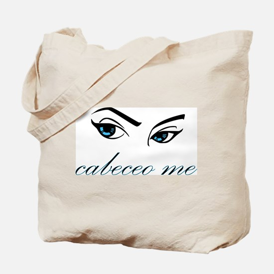 Cabeceo (blue) Tote Bag