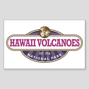 Hawaii Volcanoes National Park Sticker