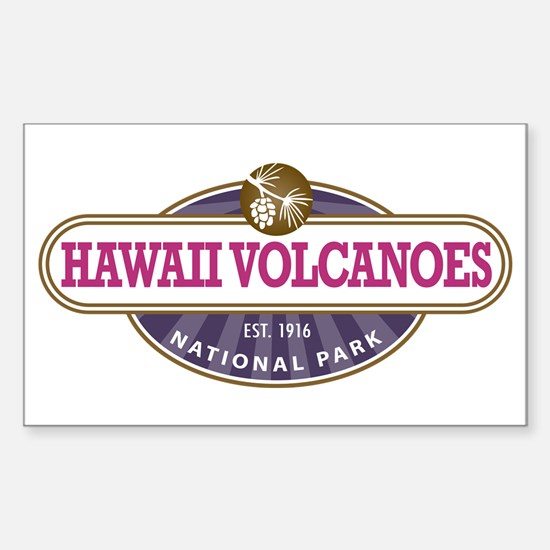 Hawaii Volcanoes National Park Bumper Stickers