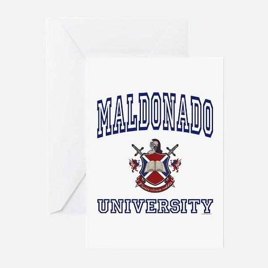 MALDONADO University Greeting Cards (Pk of 10)