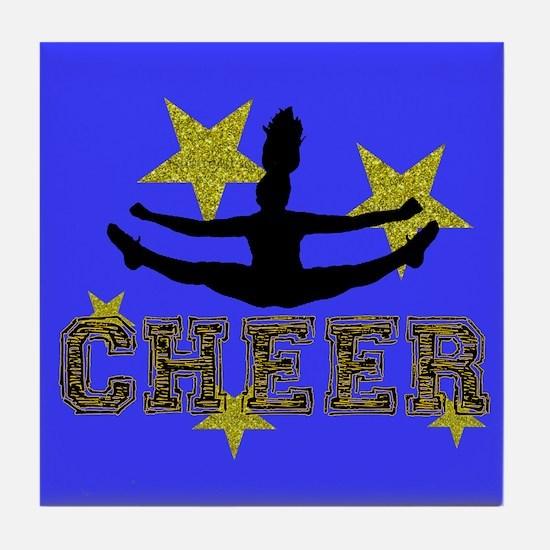 Cheerleader Tile Coaster