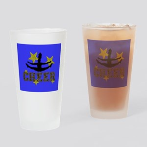 Cheerleader Drinking Glass