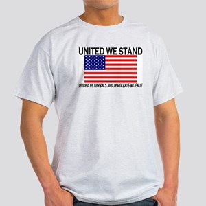 United We Stand Ash Grey T-Shirt