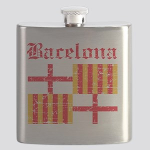 Barcelona coat of arms Flask