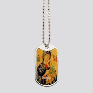 Our Mother of Perpetual Help Byzantine Dog Tags